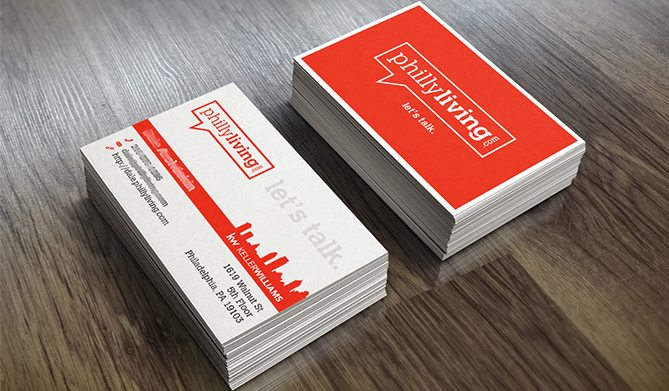28 real estate business cards we love philly living team at keller williams real estate business cards reheart Images