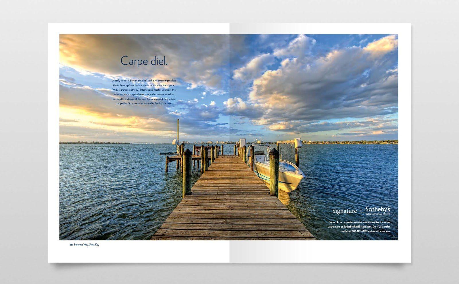 real estate ads article: carpe diel