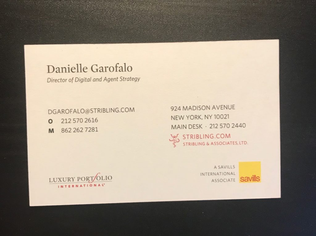 Stribling - Real Estate Business Cards