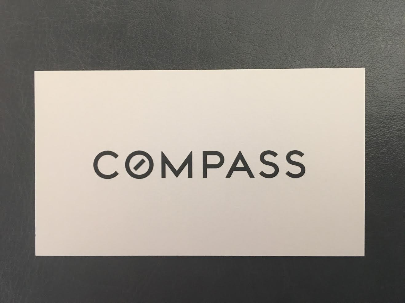 Compass - Real Estate Business Cards