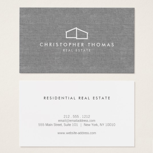 Zazzle - Real Estate Business Cards
