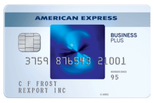 American Express Blue Business Plus best cash back business credit cards
