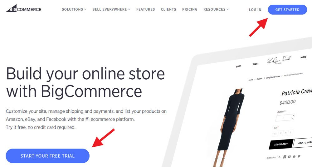 Bigcommerce how-to set up account