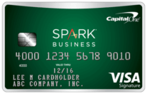 Capital One Spark Cash Select Business best cash back business credit cards