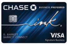 Chase Ink Business Preferred<sup>SM</sup> best cash back business credit cards