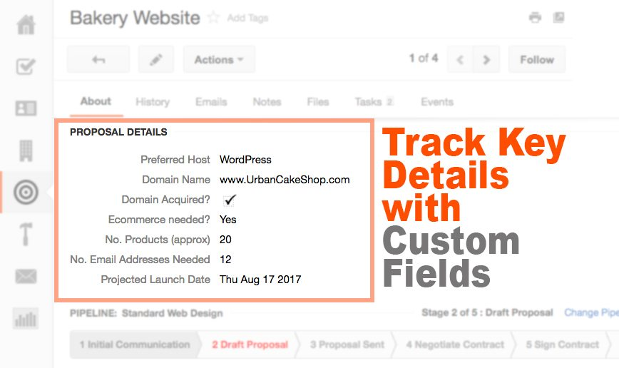 how to write a business proposal custom fields - How To Write A Proposal