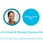 create expense claims in xero