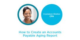 Aged Payables Aging Report in Xero
