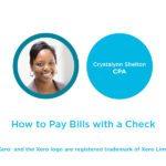 pay bills in xero