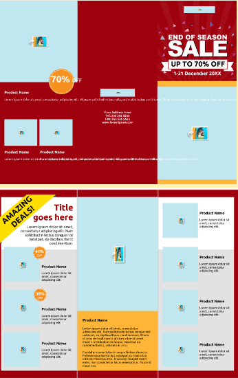 Brochure Templates Top Free And Paid Options - Sales brochure templates