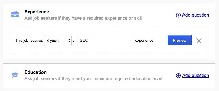 talent acquisition: questionnaire