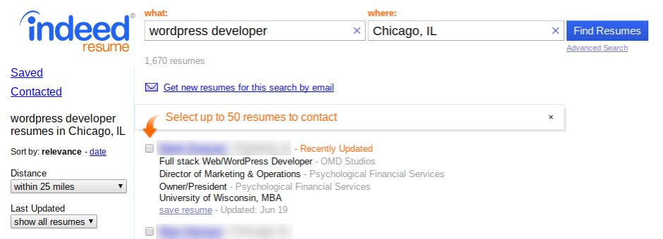 IT Recruitment: Resume Search