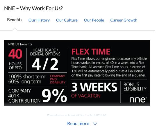 NNE - Employer branding benefits statement