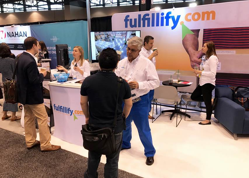 IRCE ecommerce conference attendee Fulfillify