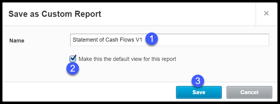 Use the Edit Layout Tool to change the layout or format of the statement of cash flows in Xero.