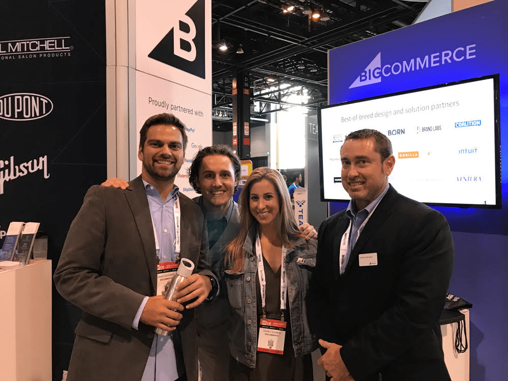 IRCE ecommerce conference attendee BigCommerce