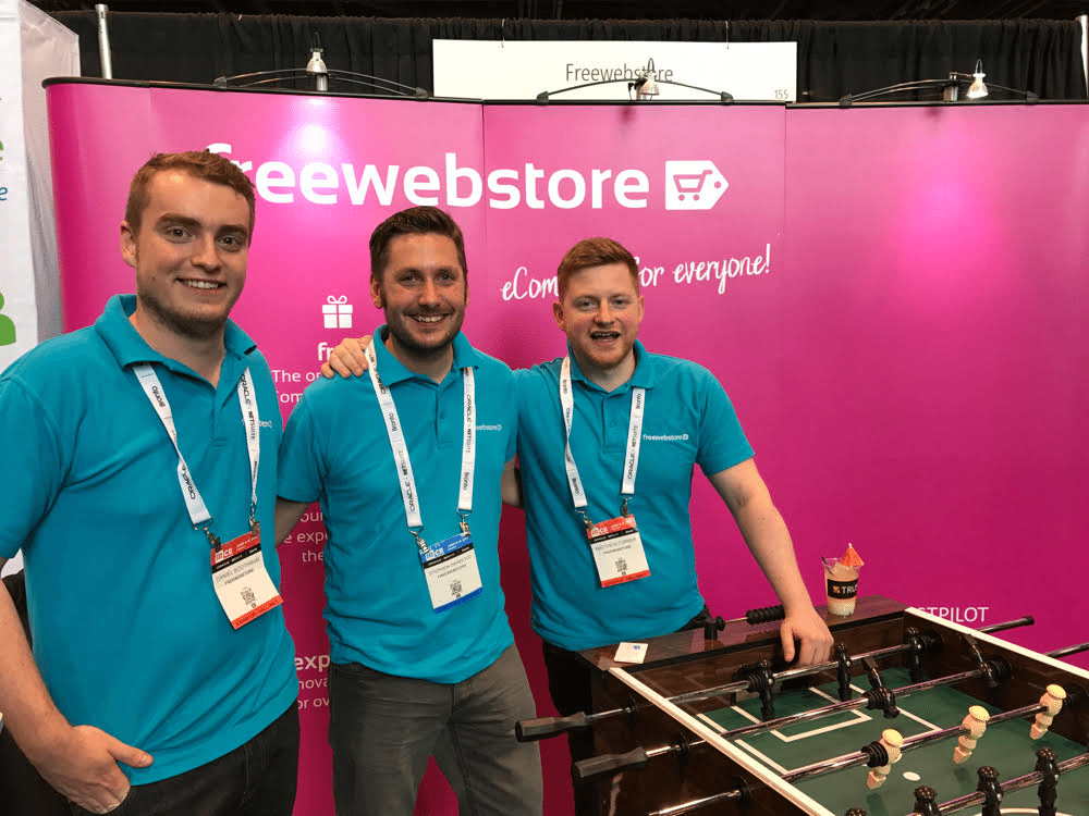 IRCE ecommerce conference attendee FreeWebStore