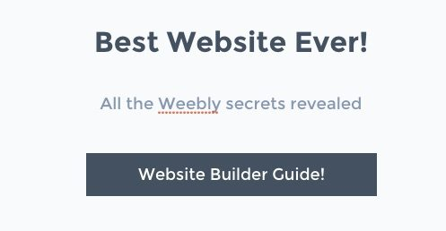 Weebly Builder Guide