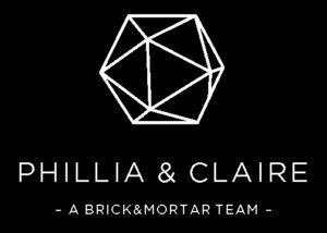 Phillia and Claire - real estate branding example