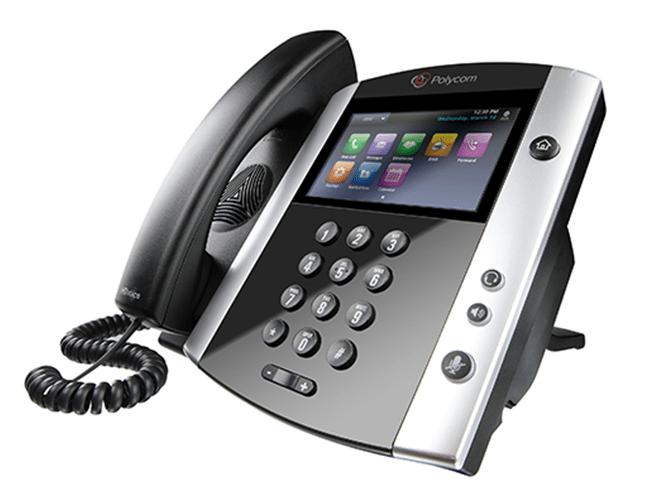 Polycom VVX 600 - best voip phone