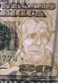 Screenshot of Watermark 20 Dollar Bill