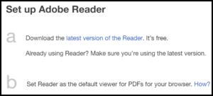 Set up Adobe Reader to print QuickBooks Checks