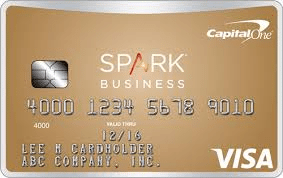 Capital One Spark Class for Business best cash back business credit cards