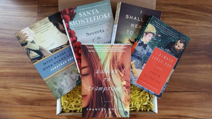 closing gifts- books