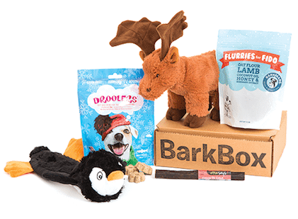 BarkBox - closing gifts