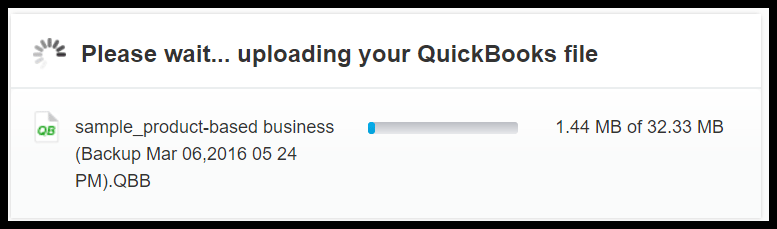 quickbooks to xero conversion file upload