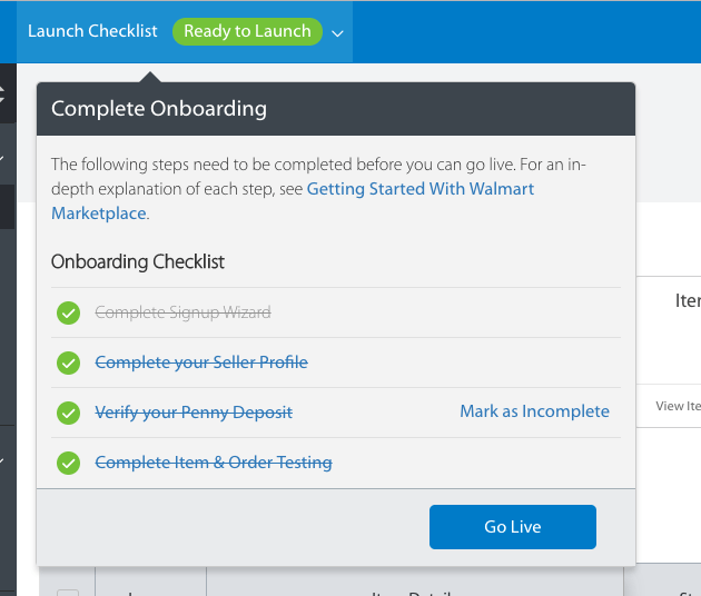 How to sell on Walmart marketplace -- ready to launch