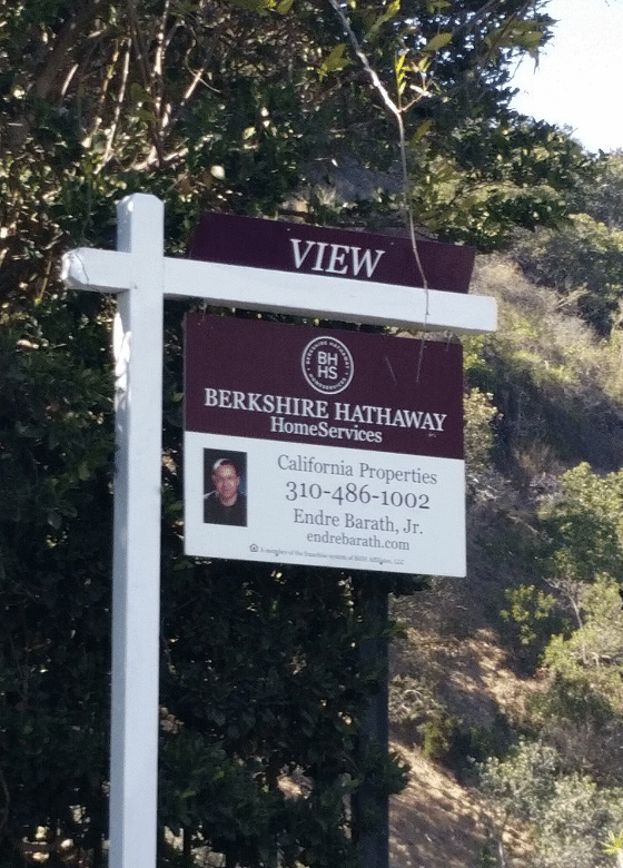 Endre Barath Jr, Berkshire Hathaway Home Services - Real Estate Signs