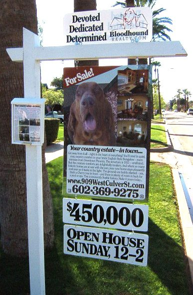 Bloodhound Realty - Real Estate Signs