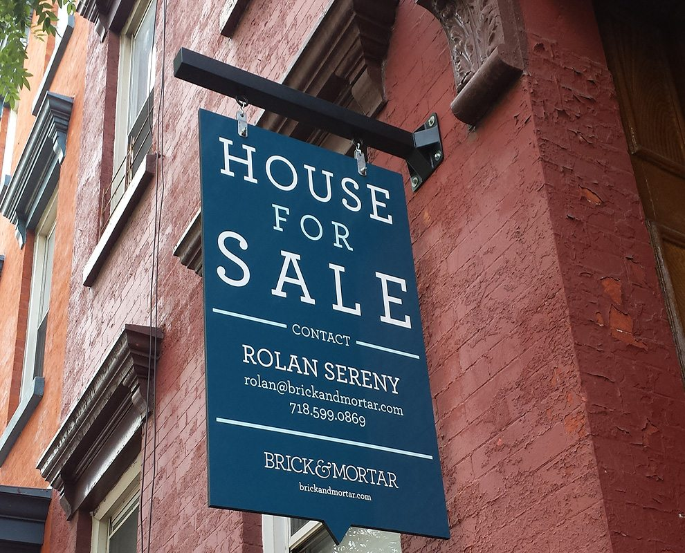 Rolan Sereny, Brick & Mortar - Real Estate Signs