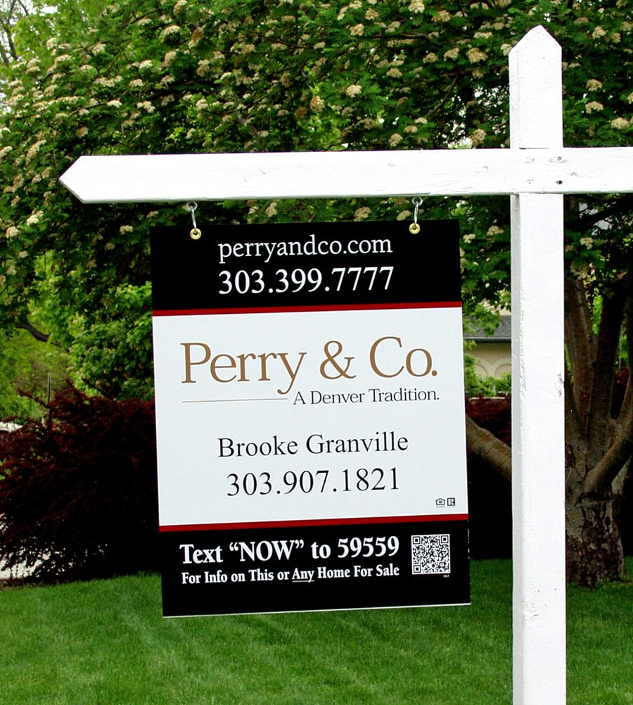 Brooke Granville, Perry & Co. - Real Estate Signs