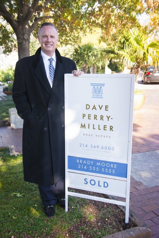 Real Estate yard Signs-Brady Moore, Dave Perry Miller