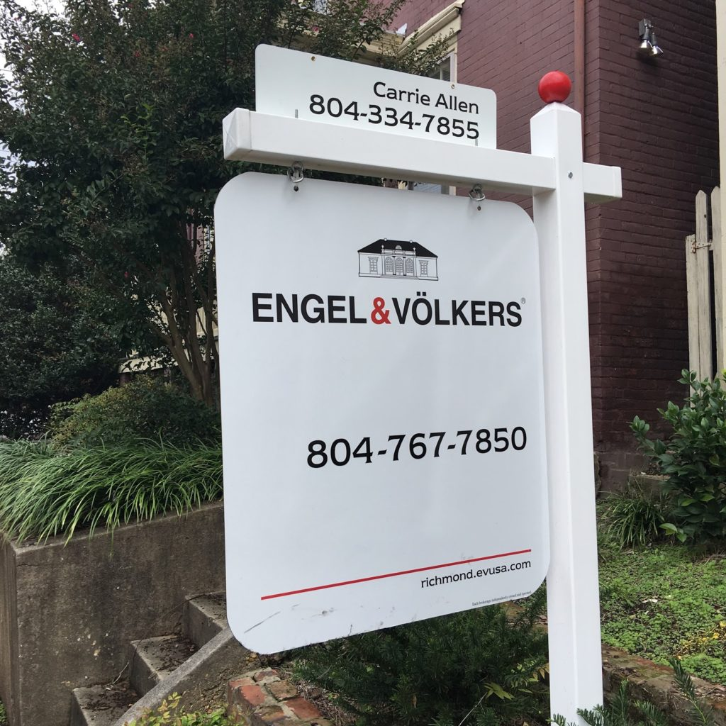 Carrie Allen, Engels & Volkers - Real Estate Signs