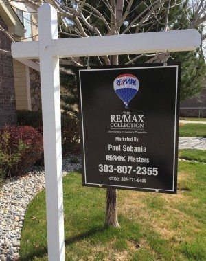 Paul Sobania, RE/MAX Masters - Real Estate Signs