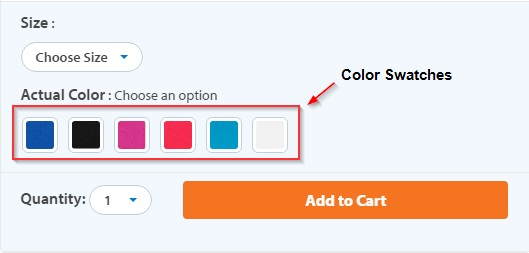 Screenshot of Color Variations