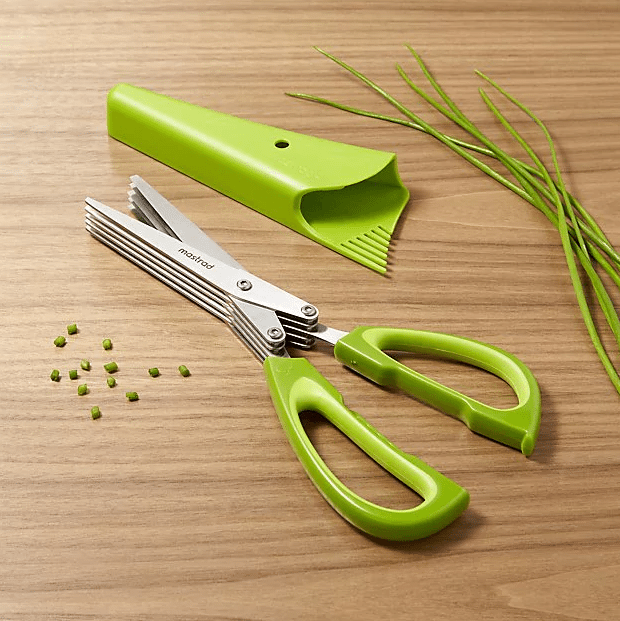 5-Blade Herb Scissors - Drop by Ideas