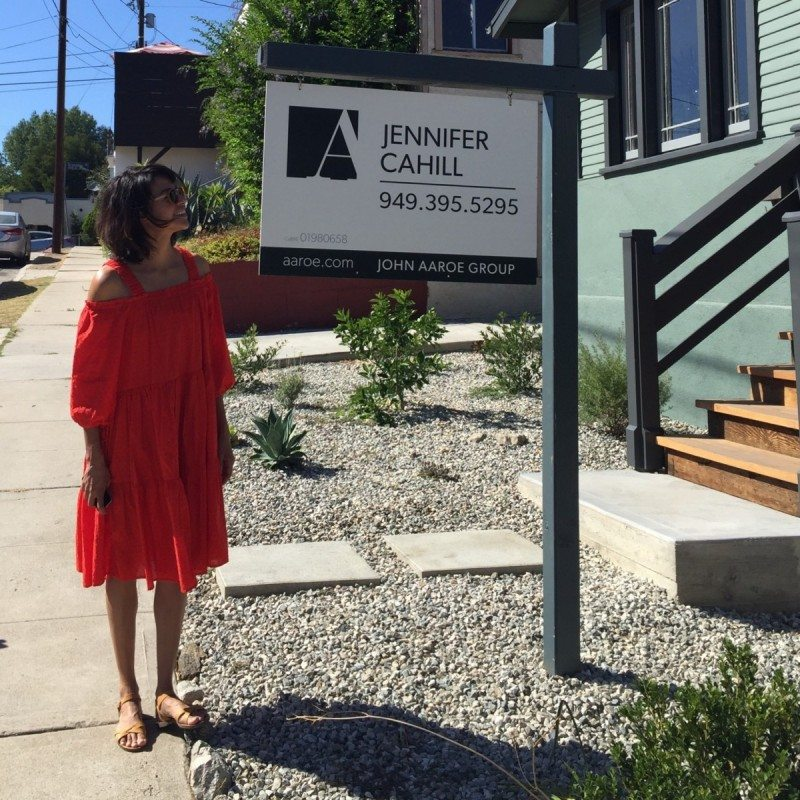 Jennifer Cahill, John Aarroe group - Real Estate Signs