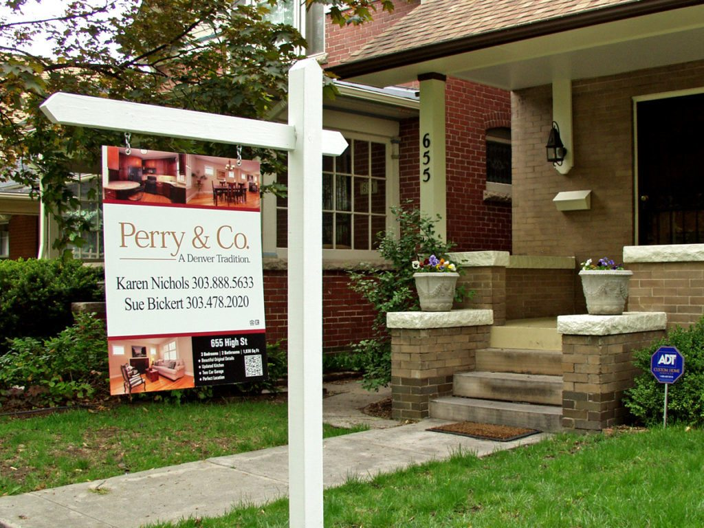 Karen Nichols, Perry & Co.- Real Estate Signs