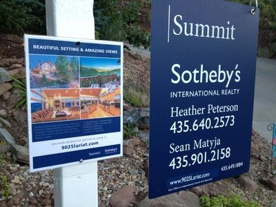 Heather Peterson, Sotheby's - Real Estate Signs