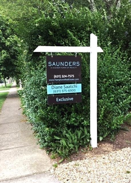 Diane Saatchi, Saunders & Associates - Real Estate Signs
