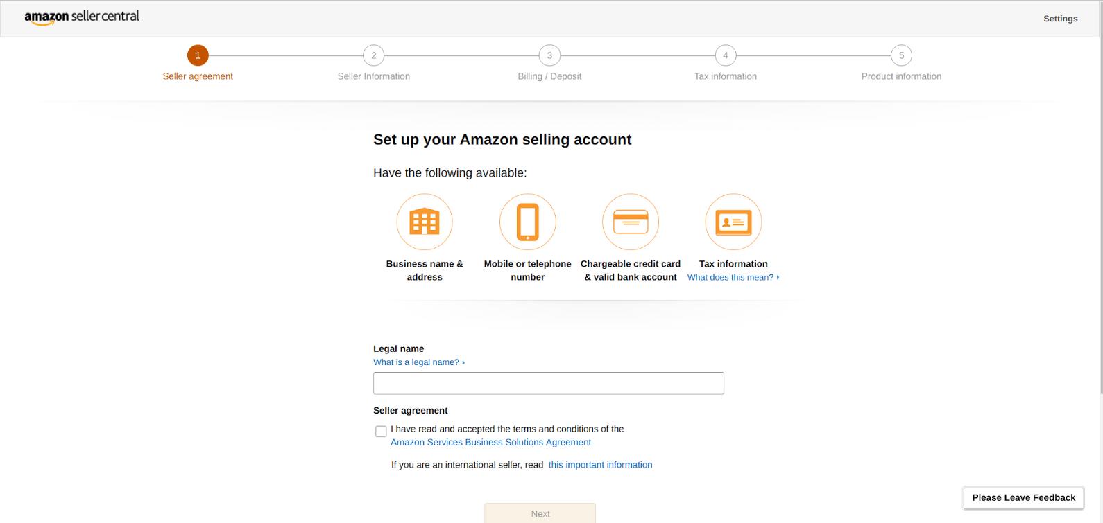 Amazon vs Walmart - getting set up on Amazon is easier