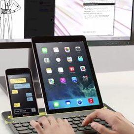 Bizbrain Multi-device Keyboard Office Gadgets