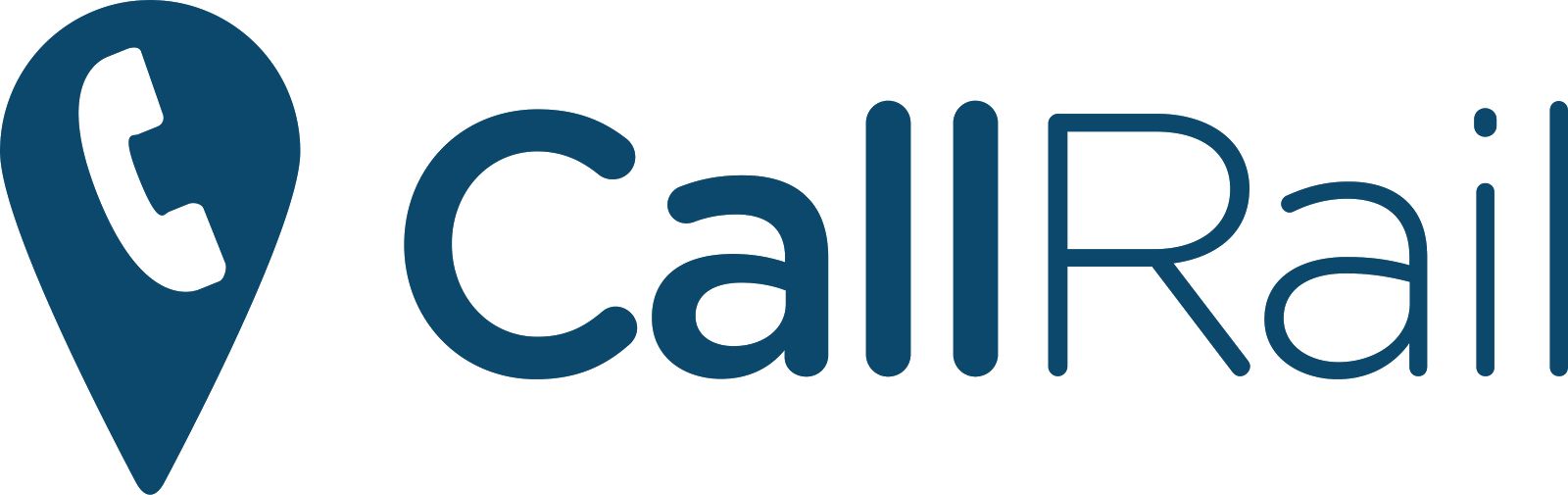 CallRail Logo - Best Call Tracking Software