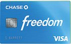 Chase Freedom Card best personal credit cards