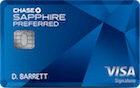 Chase Sapphire Preferred best personal credit cards