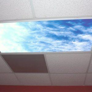 Interesting Engineering Skypanel Fluorescent Light Diffuser Office Gadgets